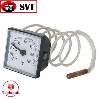 Термометр SVT LT151 (45х45мм) з капіляром