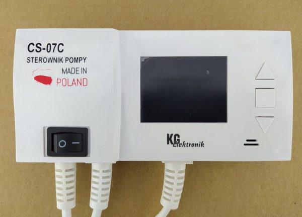 Контроллер KG Elektronik CS-07c [для 1 насоса ГВ или ТП]