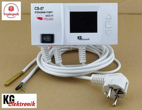 Контроллер KG Elektronik CS-07 [для 1 насоса ЦО]