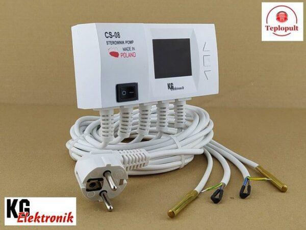Контроллер KG Elektronik CS-08 [на 2 насоса]