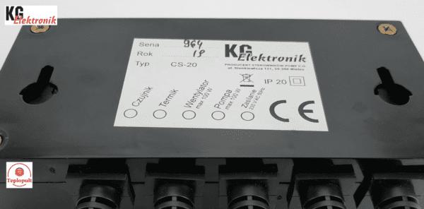 Контроллер KG Elektronik CS-20 [на 1вент. + 1насос]
