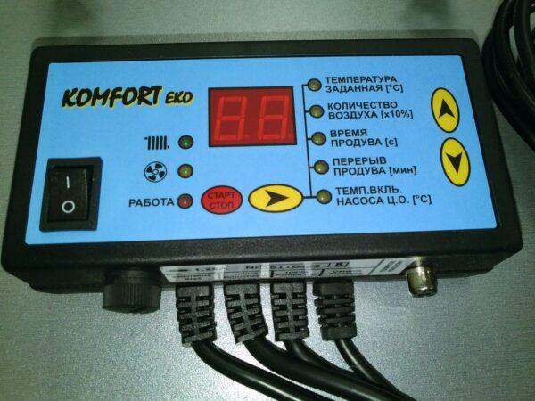 Контроллер KOMFORT EKO B N11 [на 1 вент.+ 1 насос]