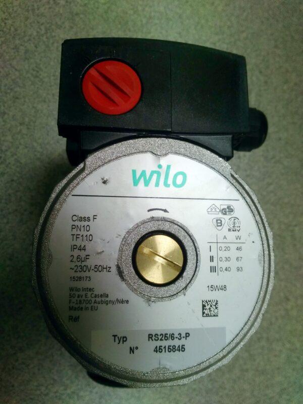 Насос Wilo Star-RS 25/6 — 180мм (серый)