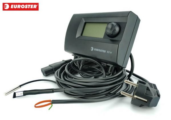 Контроллер EUROSTER 11W [на 1 вентилятор + 1 насос]