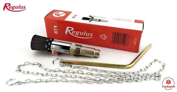 Механический регулятор тяги с цепью Regulus RT4