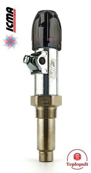 Механічний регулятор тяги ICMA Art.147 з ланцюжком