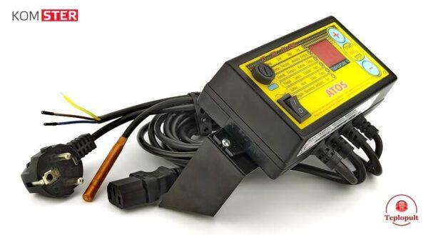 Автоматика для котла ATOS 400Вт (на 1 насос і 1 вент.)