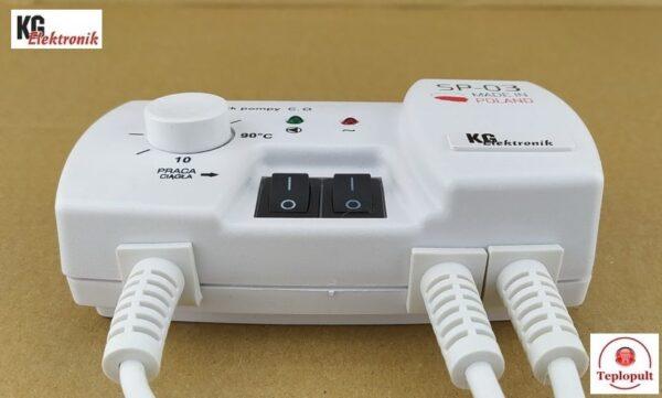 Контроллер KG Elektronik SP-03 [для 1 насоса ЦО]