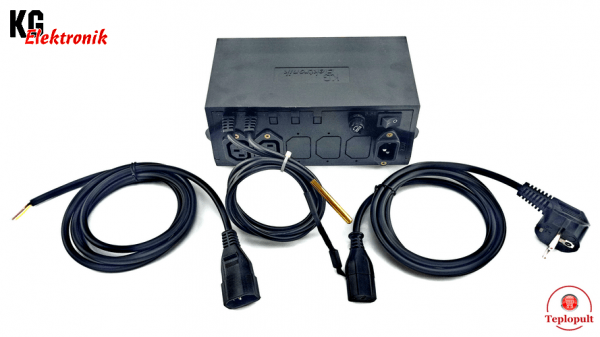 Контроллер KG Elektronik SP-05LED [на 1 вентилятор + 1 насос]