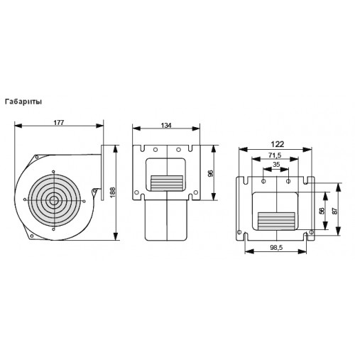 Комплект автоматики для котла TAL RT-22 + NWS-75