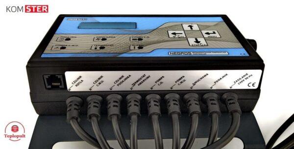 Контроллер NEGROS [на 1вент. +2 насоса +1 шнек +…]