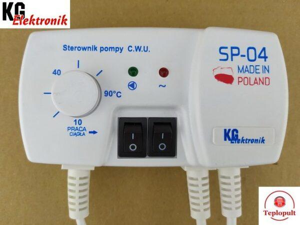 Контроллер KG Elektronik SP-04 [для 1 насоса ГВ или ТП]