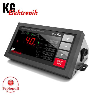 Контроллер KG Elektronik SP-30 PID [на 1вент.+1насос+дым.]