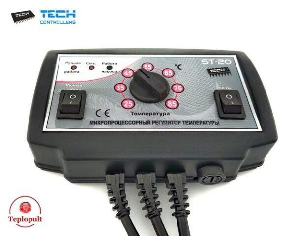 Контроллер TECH ST-20 [ предназначен на 1 насос ЦО]