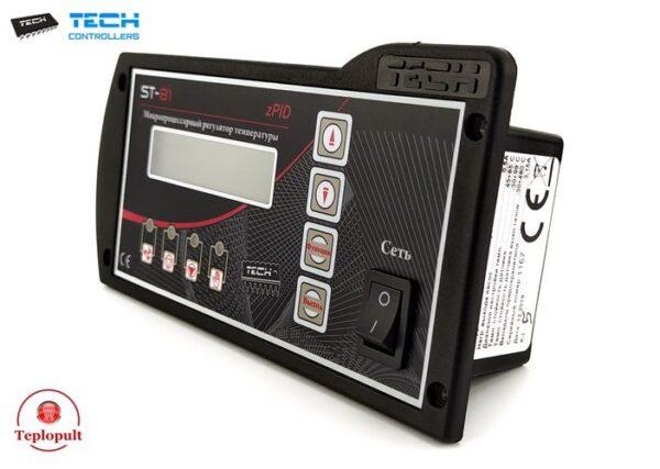 Контроллер TECH ST-81 zPID [на 1вент. +1насос ЦО +1насос ГВС +датчик газов]