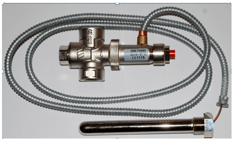 Захисний клапан Watts STS 20, 1300 мм