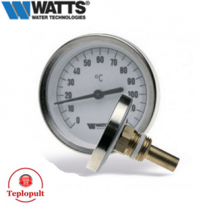Термометр Watts 63/50 F+R801