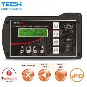 Tech ST81zPID автоматика