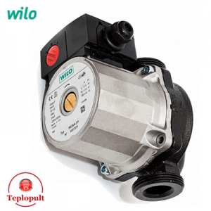 Насос Wilo Star-RS 25/4 - 130мм (сірий)