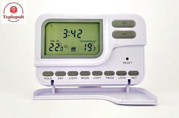 Недельный программатор температуры C7 для котла