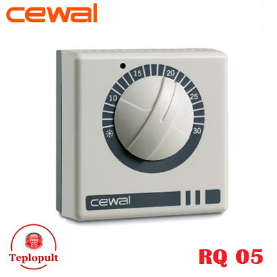 Механічний термостат CEWAL RQ05