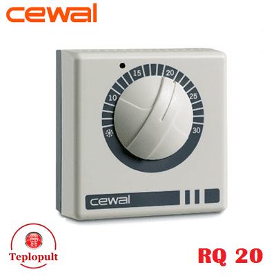 Механический термостат CEWAL RQ20