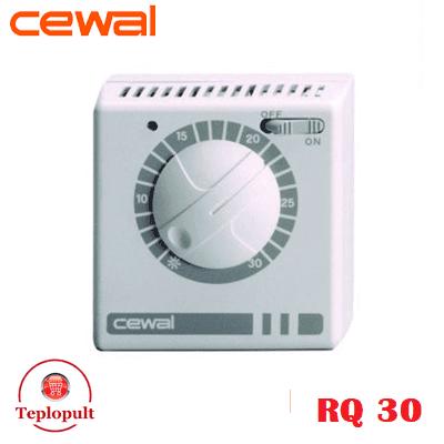 Механический термостат CEWAL RQ30