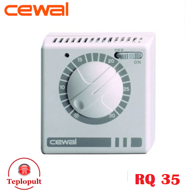 Механический термостат CEWAL RQ35
