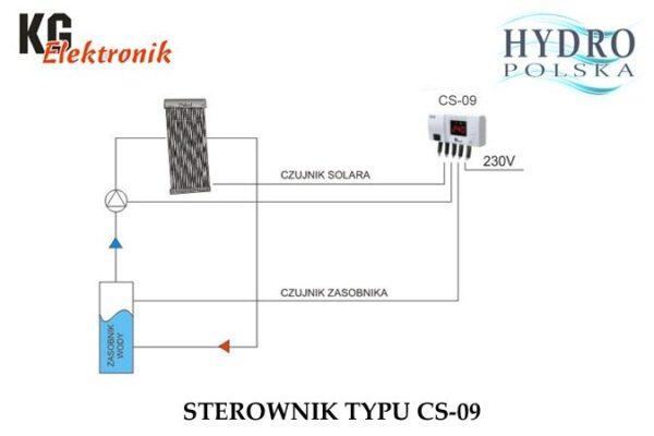 Автоматика KG Elektronik CS-09 для сонячного колектора