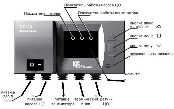 Комплект автоматики CS-20 + DP-02К
