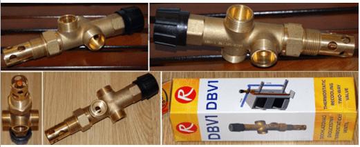Двоxxодовий захисний клапан DBV 1
