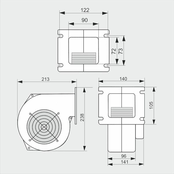 Вентилятор WPA-140
