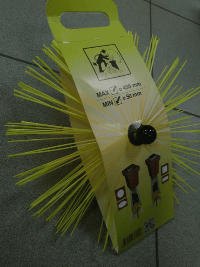 Универсальная щетка для дымохода Hansa (50-400мм)