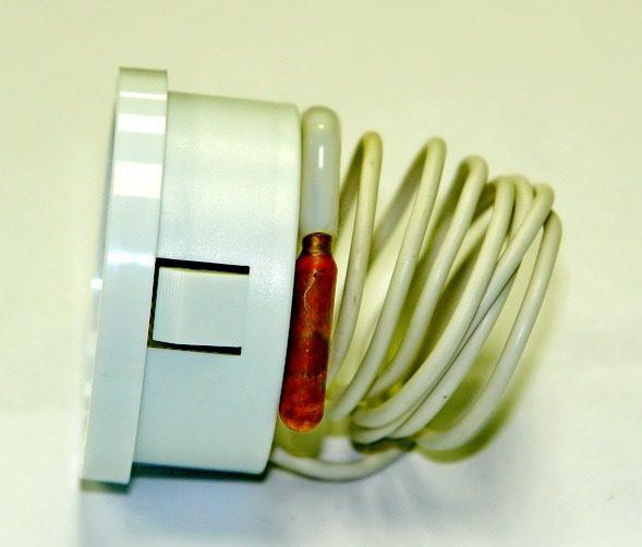 Термометр SVT 52 P LT144, білий, з капіляром