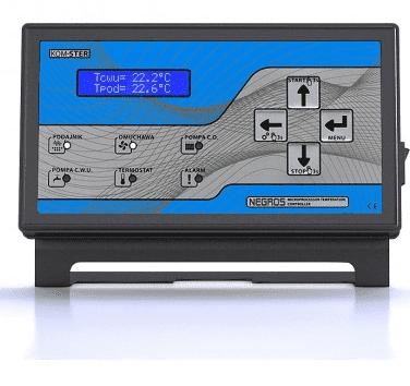 Контроллер NEGROS (на 1вент.+2нас.+1шнек)