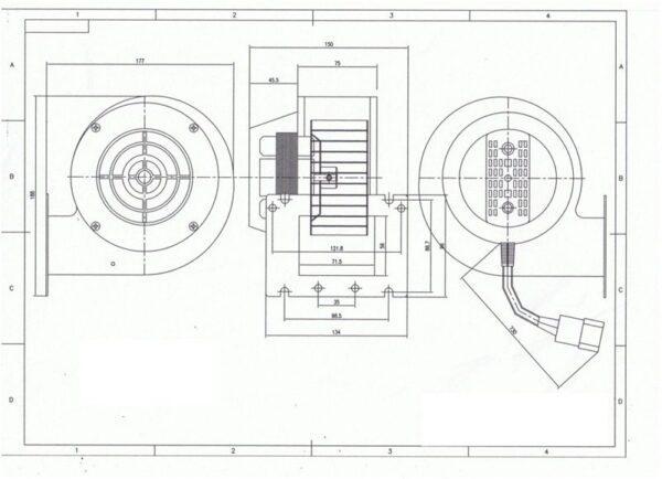 Вентилятор NWS-100