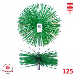 Щітка для чистки димоходу 125 пластик