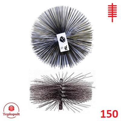 Щетка для чистки дымохода ∅ 150 мм (сталь)