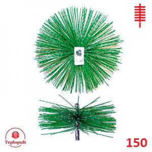 Щітка для чистки димоходу 150 пластик