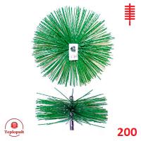 Щетка для чистки дымохода ∅ 200 мм (пластик)