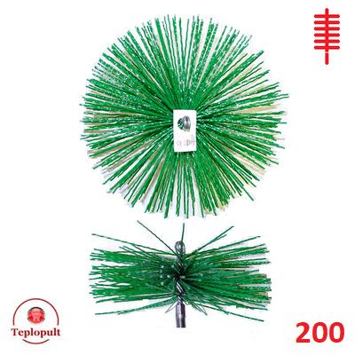 Щітка для чистки димоходу ∅ 200 мм (пластик)