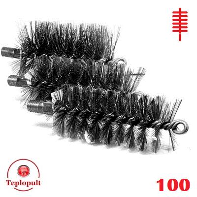 Щітка для чистки котла ∅. 100 мм (сталь)