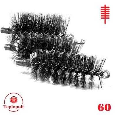 Щітка для чистки котла ∅ 60 мм (сталь)