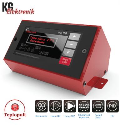 Контроллер KG Elektronik SP-32 PID [на 1вент+2насоса+дым]
