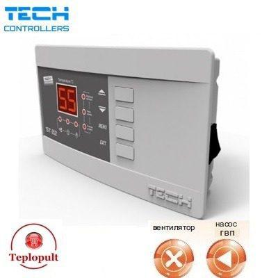 Контроллер TECH ST-22N [на 1 вентилятор + 1 насос]
