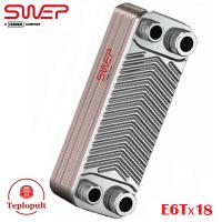 Tеплообмінник SWEP E6Tх18 (Швеція)