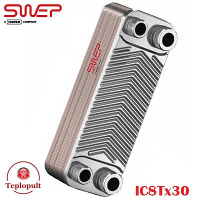 Tеплообмінник для газового котла SWEP IC8Tх30 (Швеція)