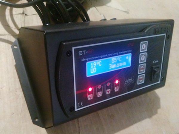 Контроллер ST-81 zPID (на 1вент+2нас+t.газів)