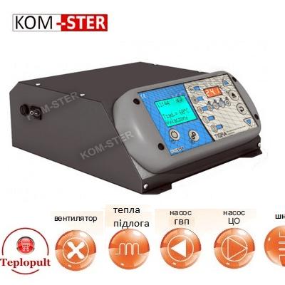Контроллер TIGRA (на 1вент.+4нас.+шнек+…)