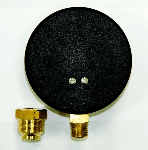 Термоманометр радиальный WATTS F + R828 (80 мм, 0-4 бар, 0-120 ° С)